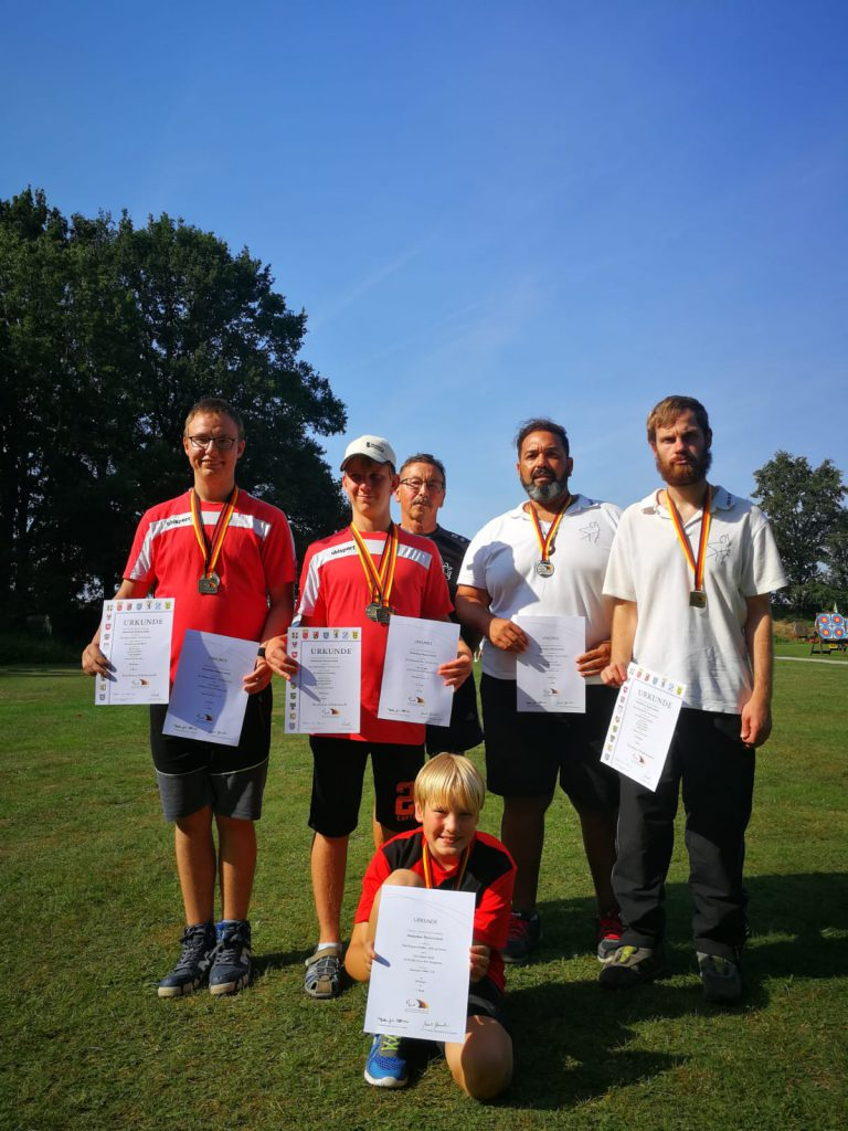 Schützen Deutsche Meisterschaft DBS Deutscher Behindertensportverband 2019 Bogenschießen